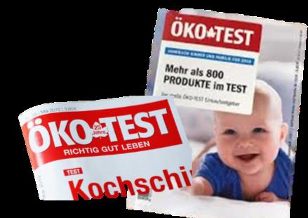 Öko Test 鄂科測試(奧科測試)定期出版刊物公佈測試結果,是德國人購物的指標
