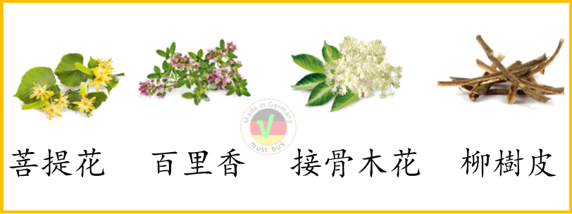 四種花草是常見的感冒茶成分