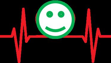 有健康的心電圖,就有微笑的人生