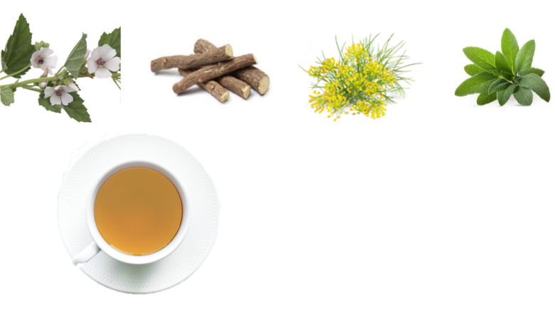 緩解喉痛的天然藥草茶