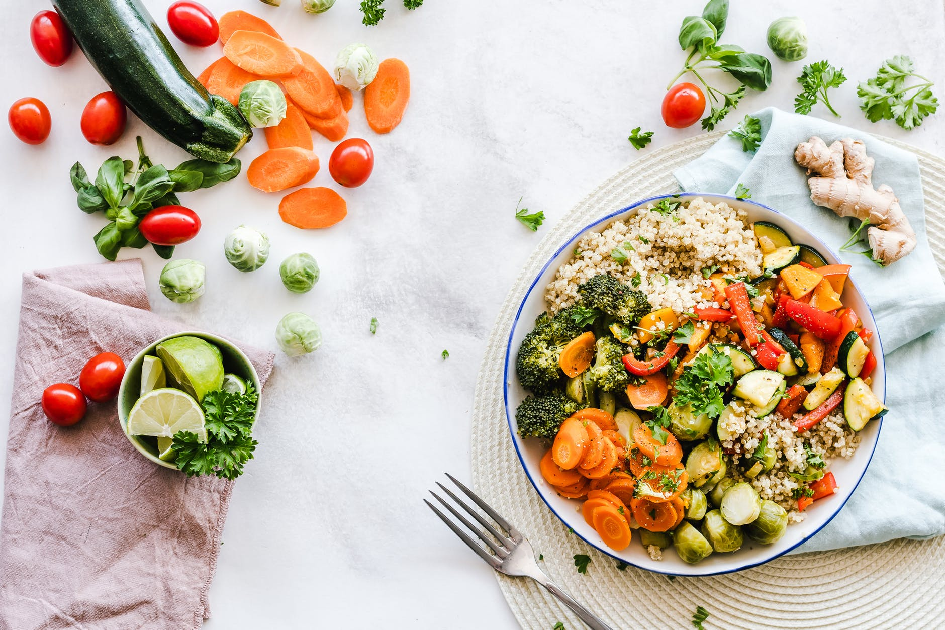 均衡豐富的飲食可以幫助減重