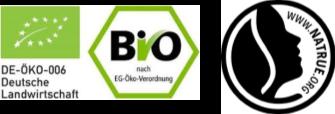 歐盟有機法規認證、國際化妝保養品協會認證標章