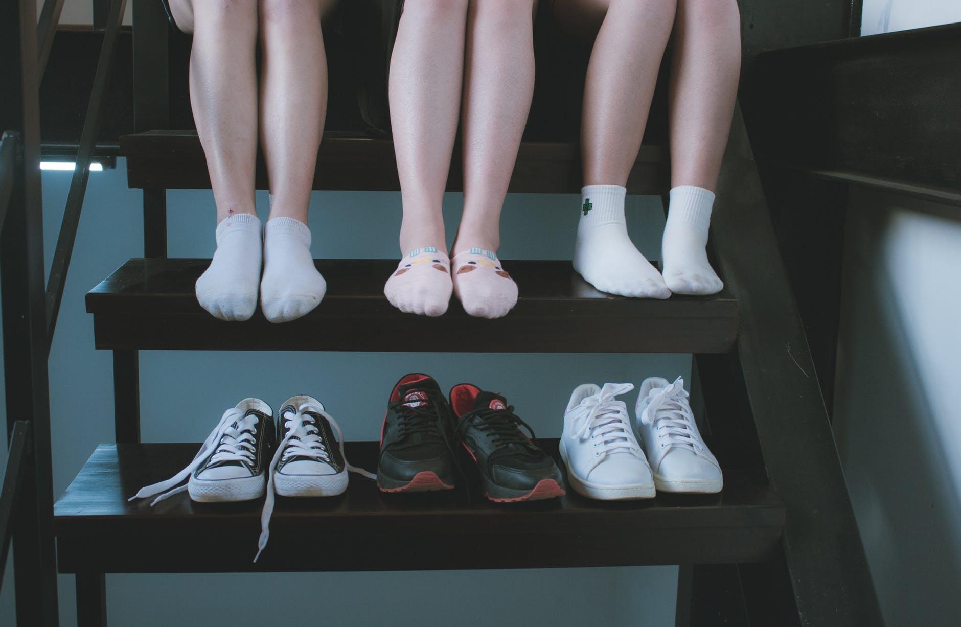 擔心脫鞋時會發出令人不開心的氣味嗎?