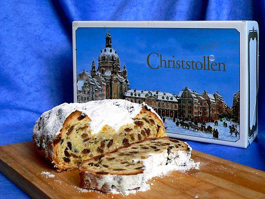 CHriststollen斯多倫是德國經典的耶誕節甜點